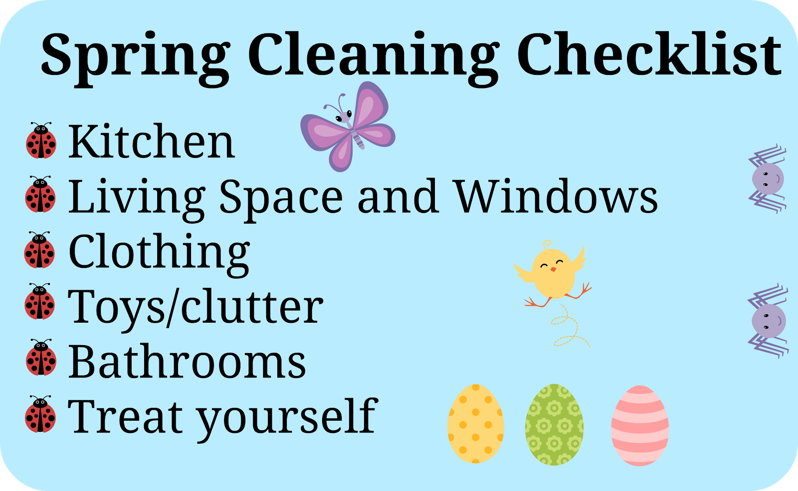 spring cleaning guide | home maid simple