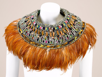 Anita Quansah neck piece - iloveankara.blogspot.co.uk