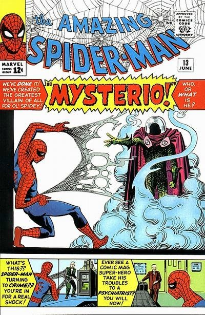 Amazing Spider-Man #13, Mysterio
