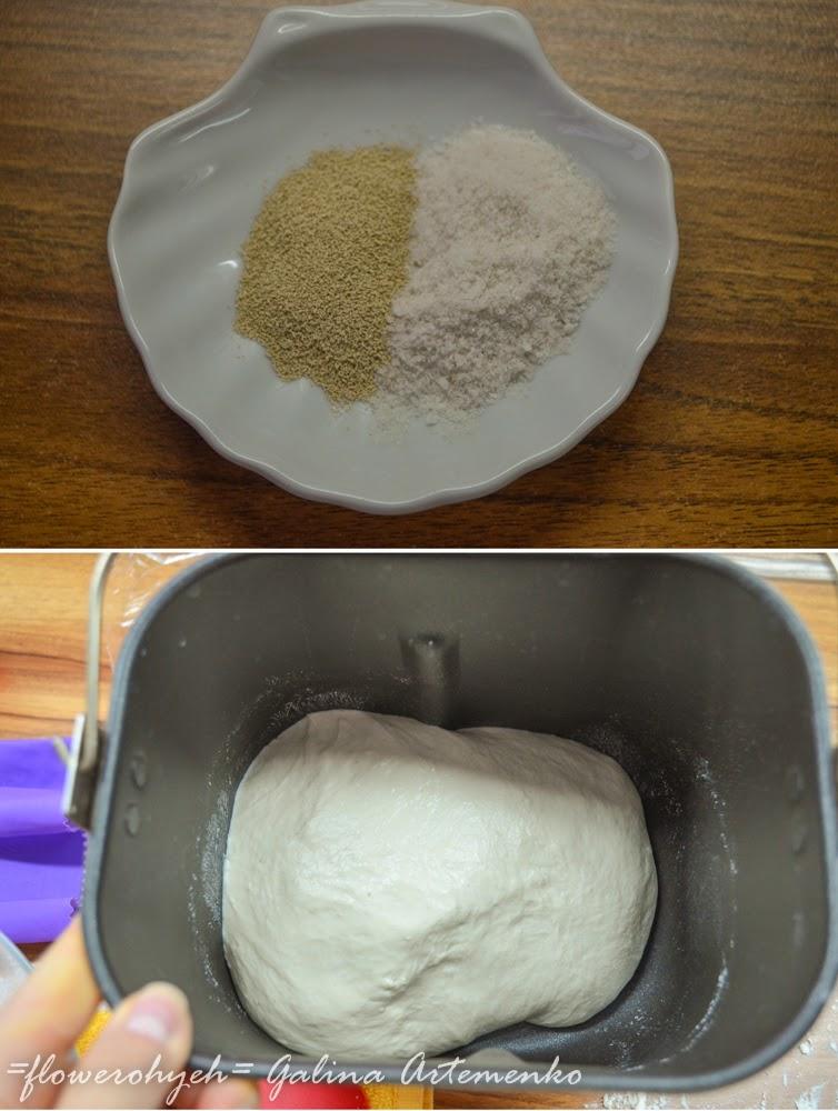 замес теста в хлебопечи