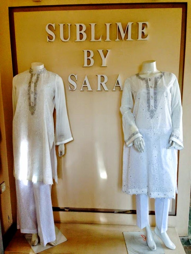 Sublime by Sara Eid Dress Collection 2014