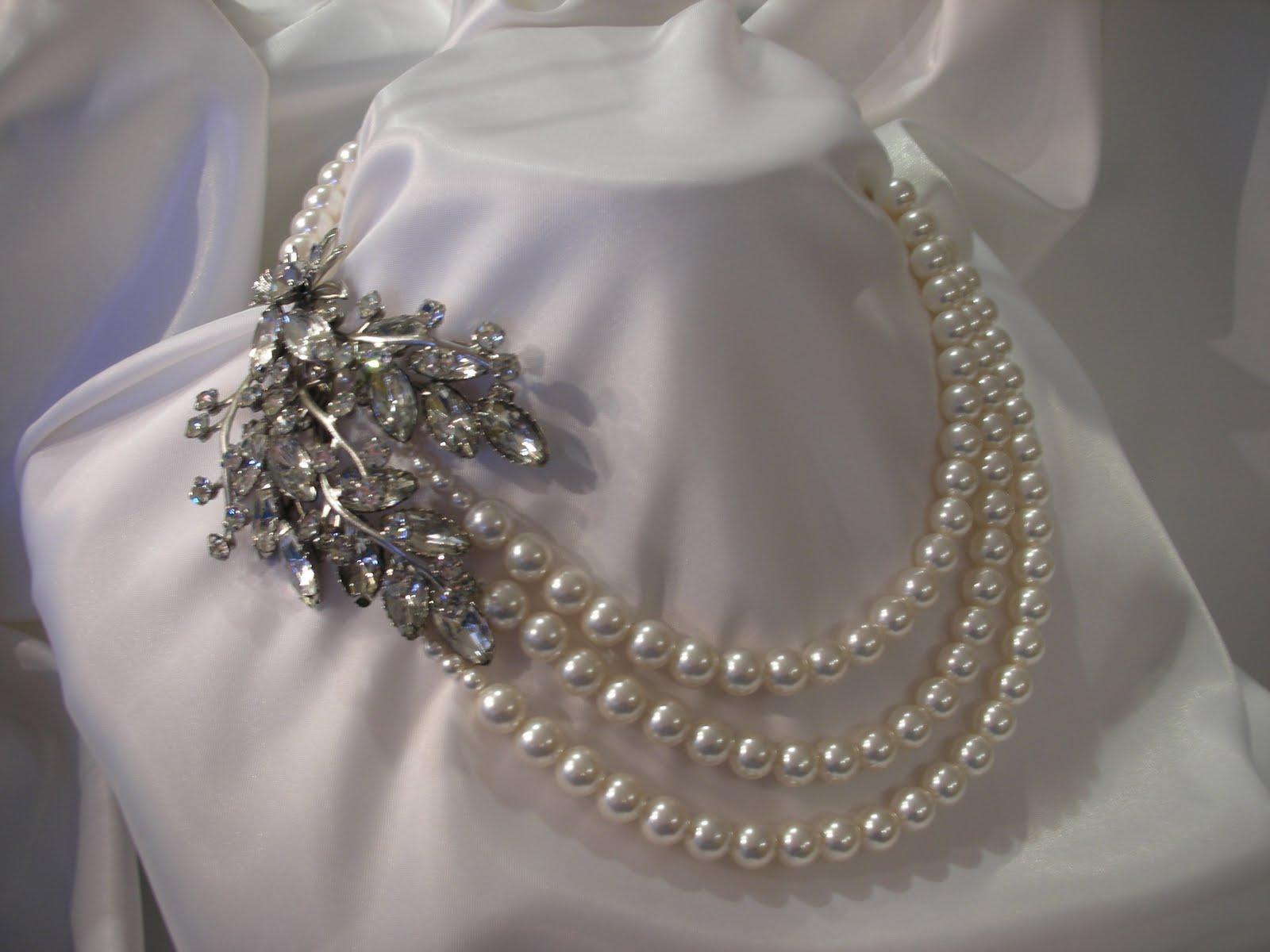 Vintage Bridal Necklaces 21