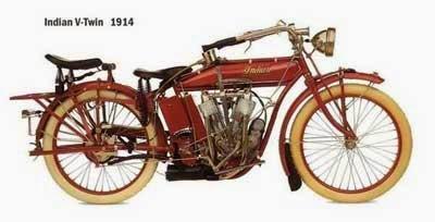 gambar motor jadul Indian