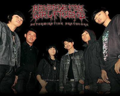 Revenge For Girlfriend Band Determination Deathcore Surabaya Foto Personil Logo Wallpaper