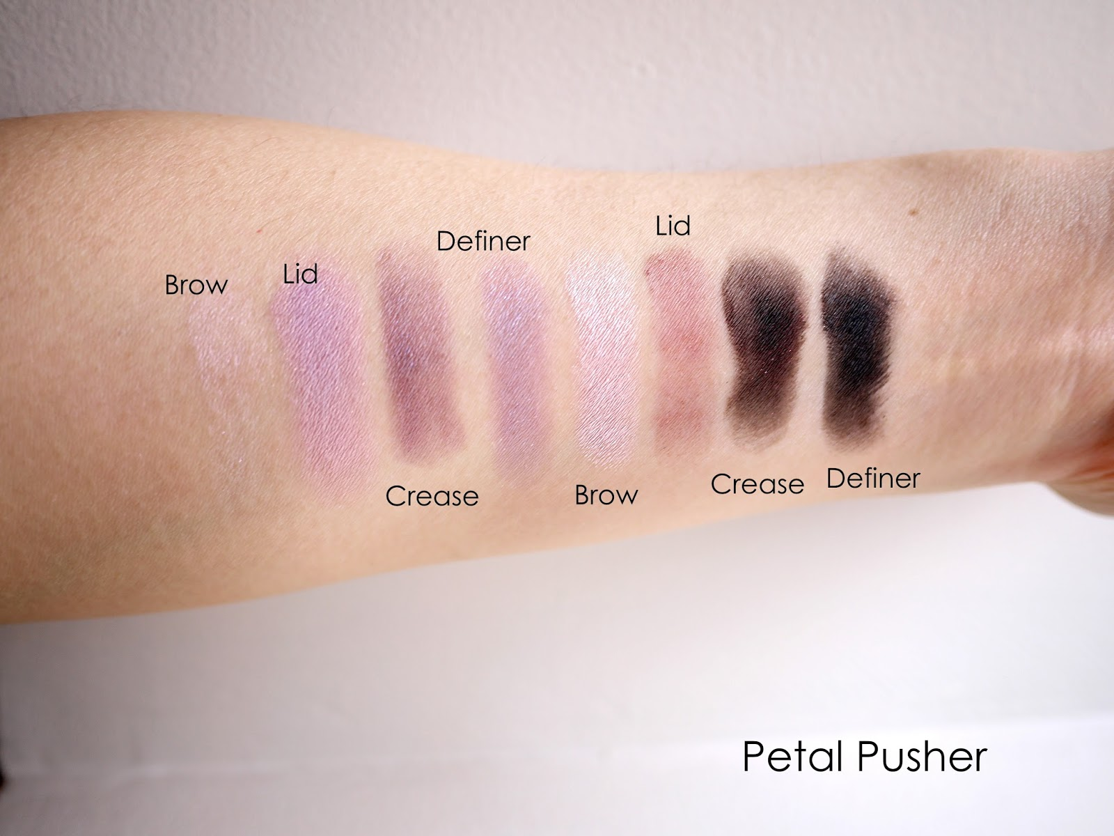 Do you need the wet n wild color icon shadow 8 palette petal pusher swatches and review