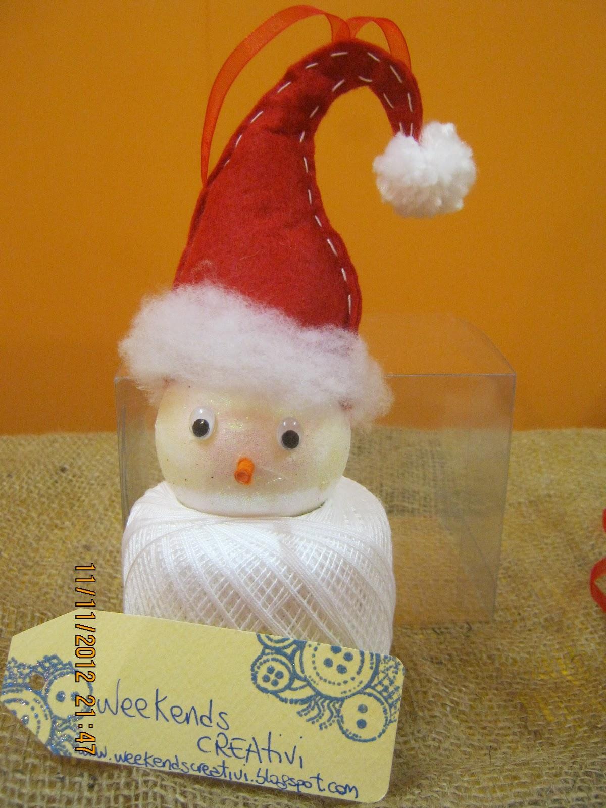 Week ends creativi decorazioni natalizie per bambini la pallina alfreddo - Decorazioni natalizie per bambini fai da te ...