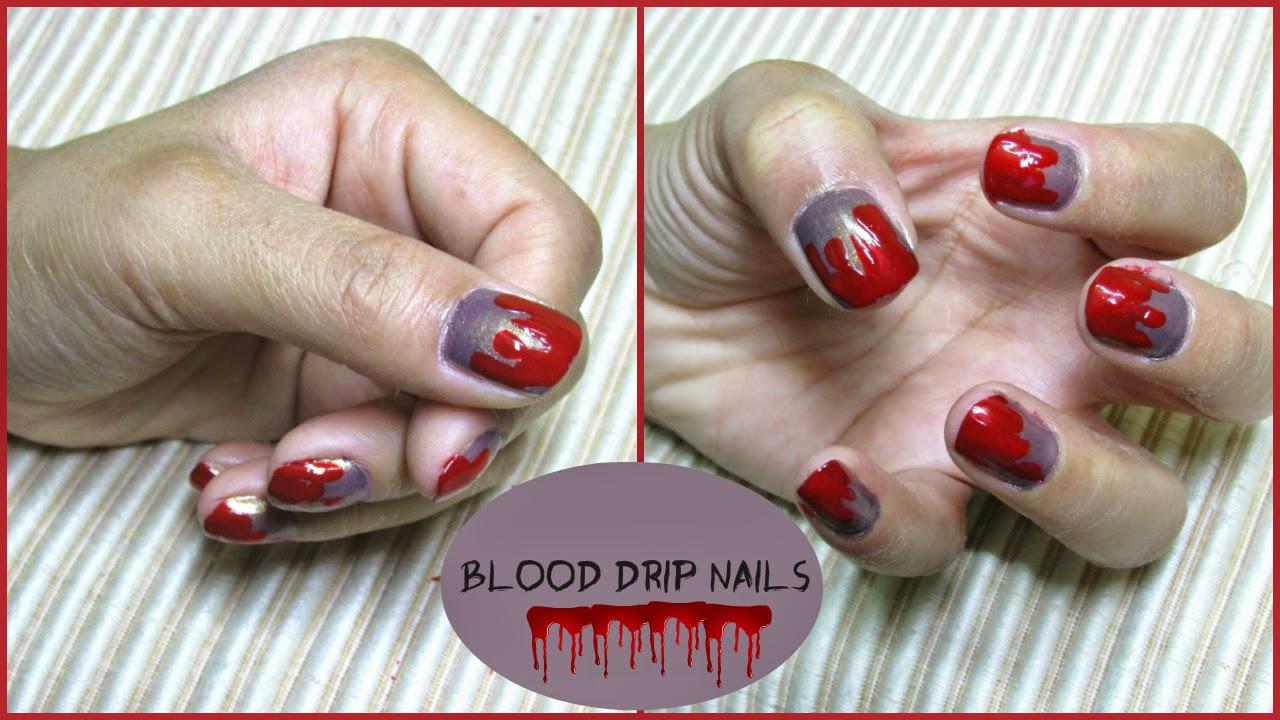 Nail Nail Art Vampire Nails