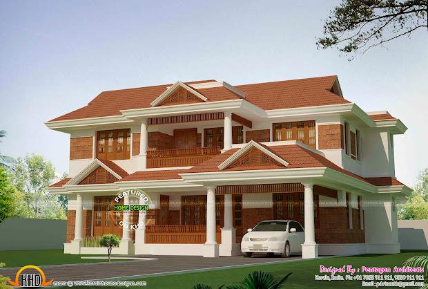 Kerala House Plans Set Part 2 - Home Design And
