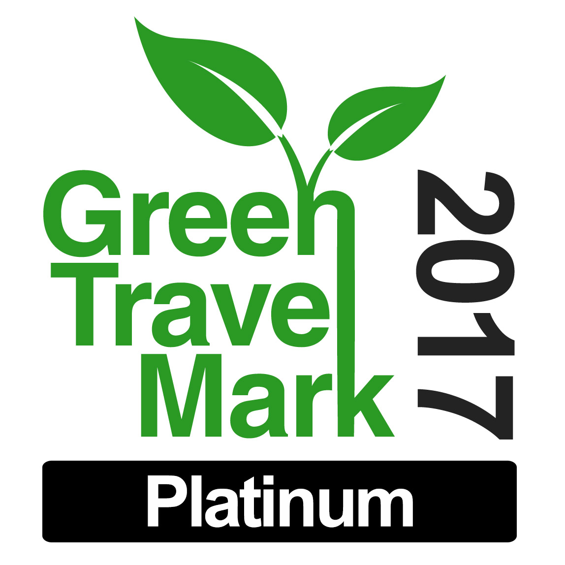 2017- Green Travel mark
