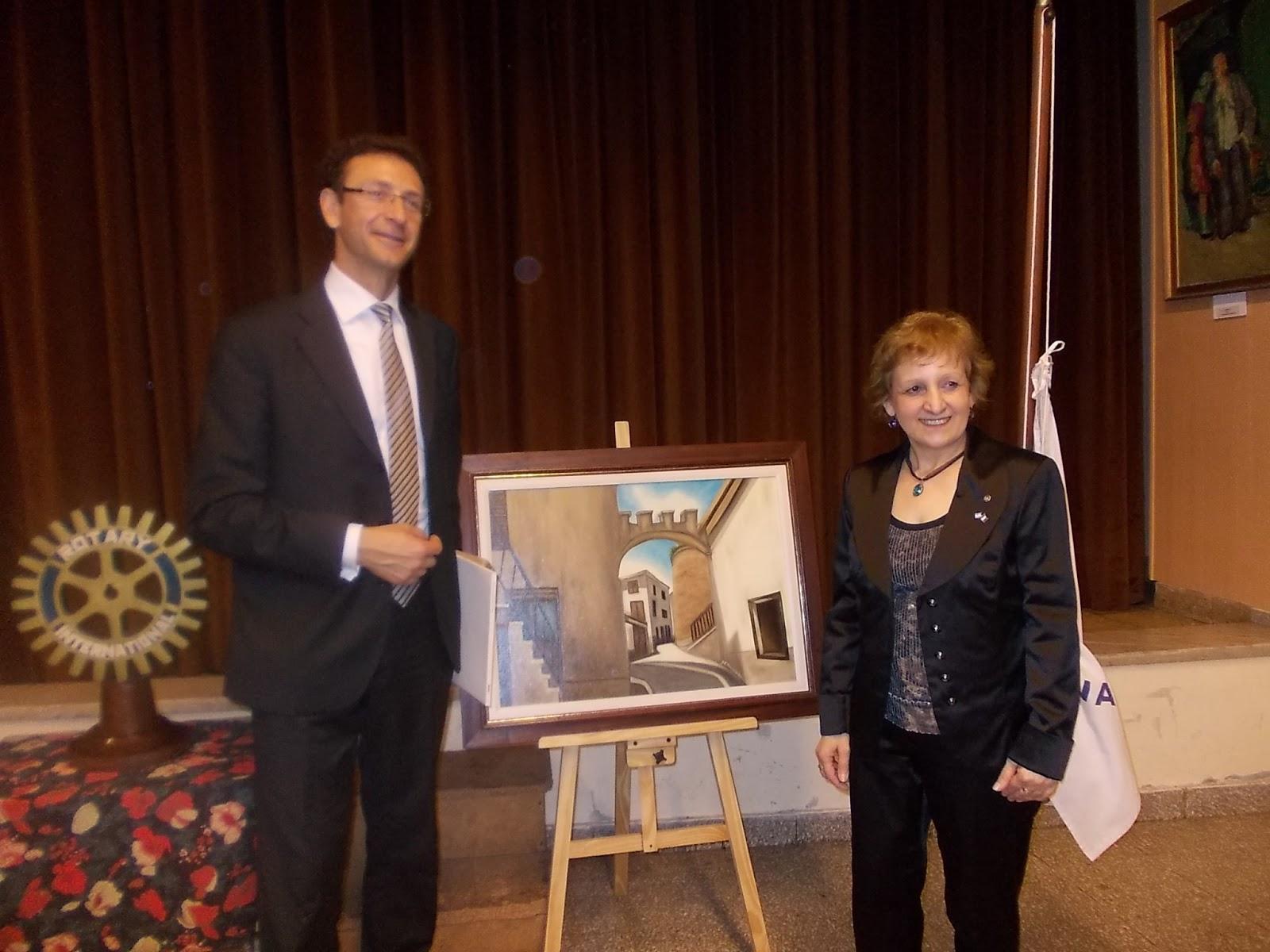 Ida De Vincenzo: Ida De Vincenzo en el Rotary Club Internacional ...