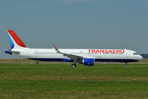 Transaero with large Titles