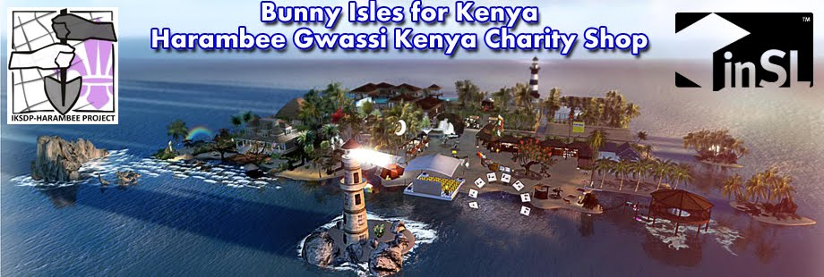 IKSDP Harambee Gwassi Kenya Project in Second Life