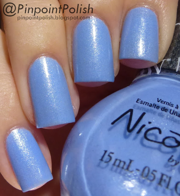 Stand By Your Manny, Nicole by OPI, Modern Family collection, swatch
