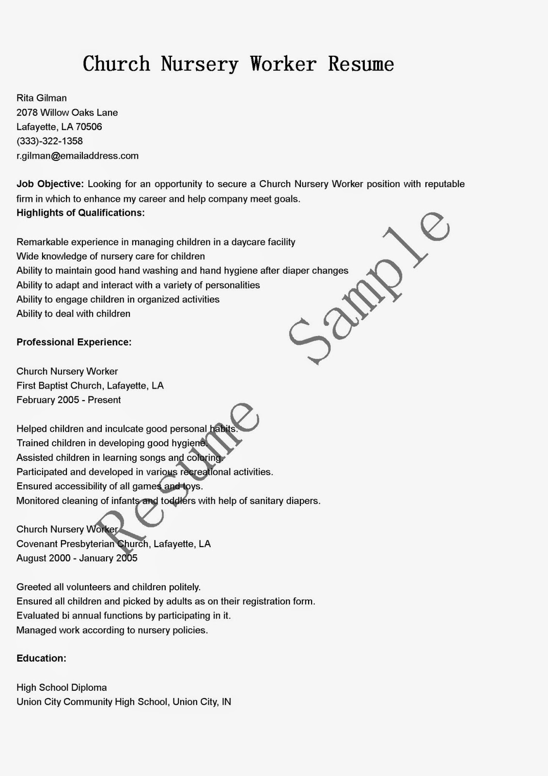 church worker resume sales worker 28 images assembly