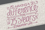 Celebrating 25 Years of Stampin'Up!