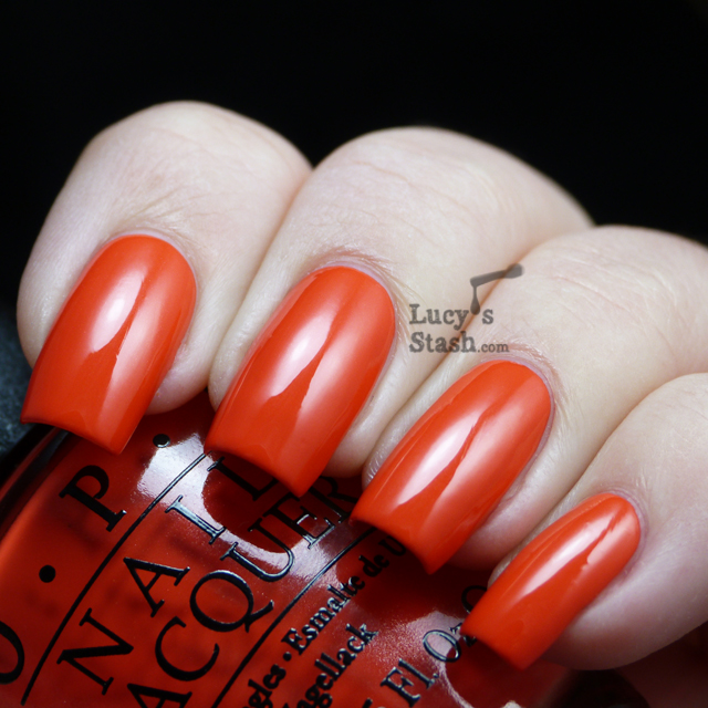 Lucy's Stash - OPI My Paprika is Hotter than Yours!
