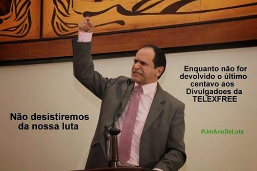Acreditam na vitória da devolução do dinheiro dos divulgadores da TELEXFREE