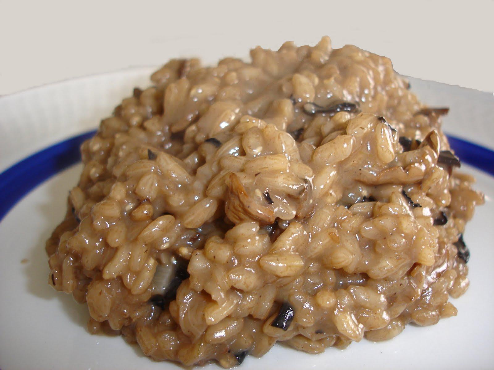 Mis caprichos culinarios risotto de setas - Rissotto de setas ...