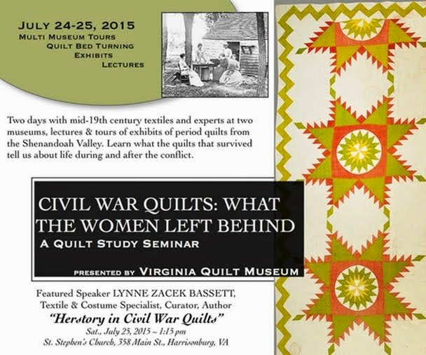 Civil War Quilts: What the Women Left Behind