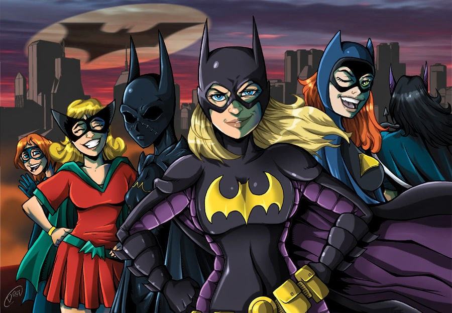 Batgirl Through The Ages