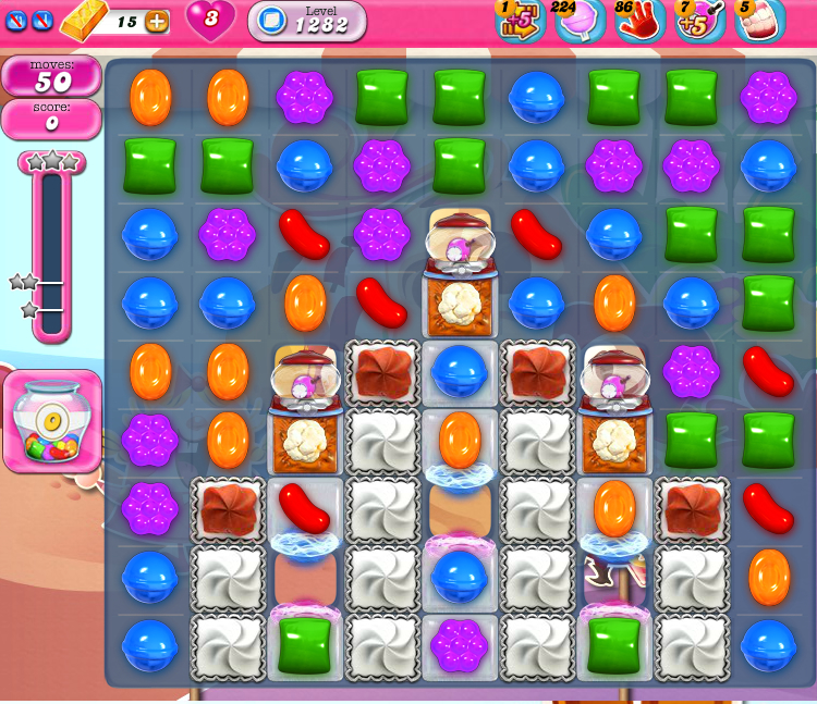 Candy Crush Saga 1282