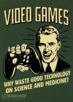 negative effects of video games