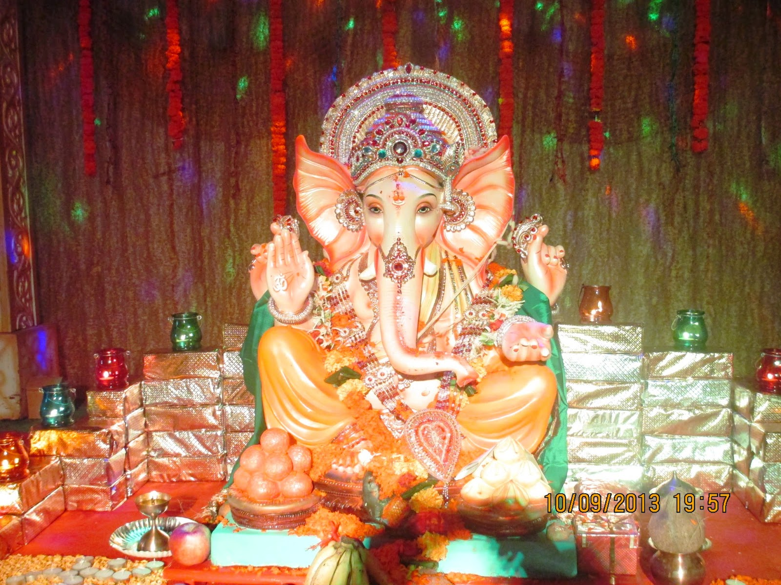 Ganesh Puja is known as Ganesh Chaturthi