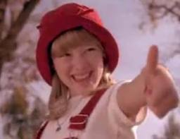 casper and wendy movie. this outfit totally remind me of the movie casper meets wendy with hillary duff. i remember watching that when was a kid (i loved and
