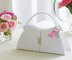 Beach bridal purse