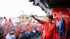 A força que carrega Dilma