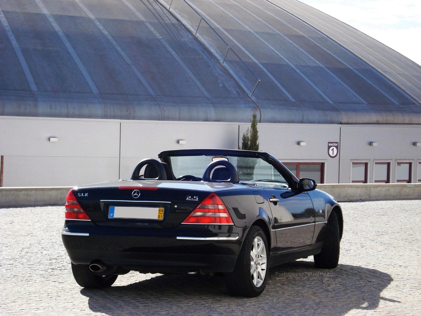 Portuguese petrol head driven mercedes benz slk 200 for Mercedes benz slk 1999