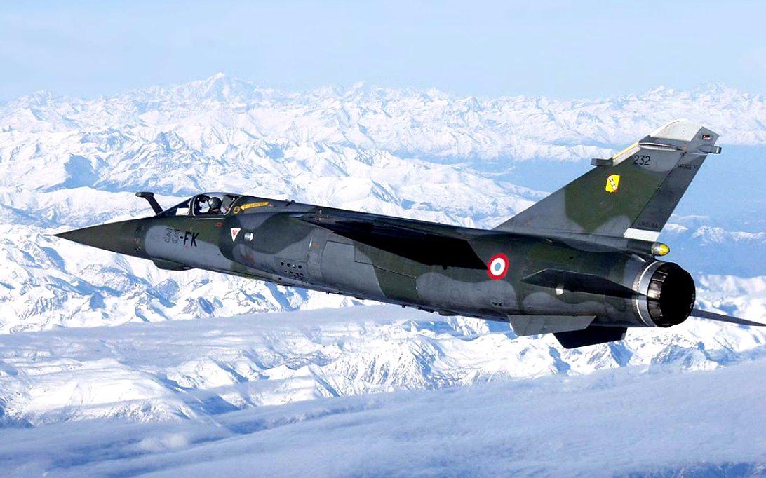 Mirage 2000 Jet Fighter Wallpaper 2