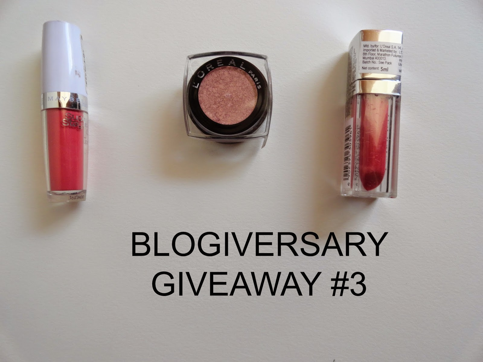 Blogiversary giveaway #3: Pretty in pink image