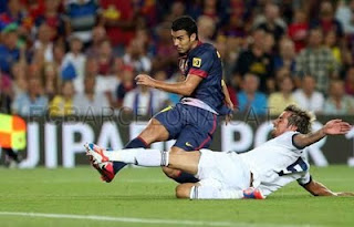 FC Barcelona vs Real Madrid video resumen goles final Supercopa de España 2012