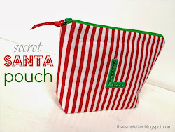 diy secret santa pouch