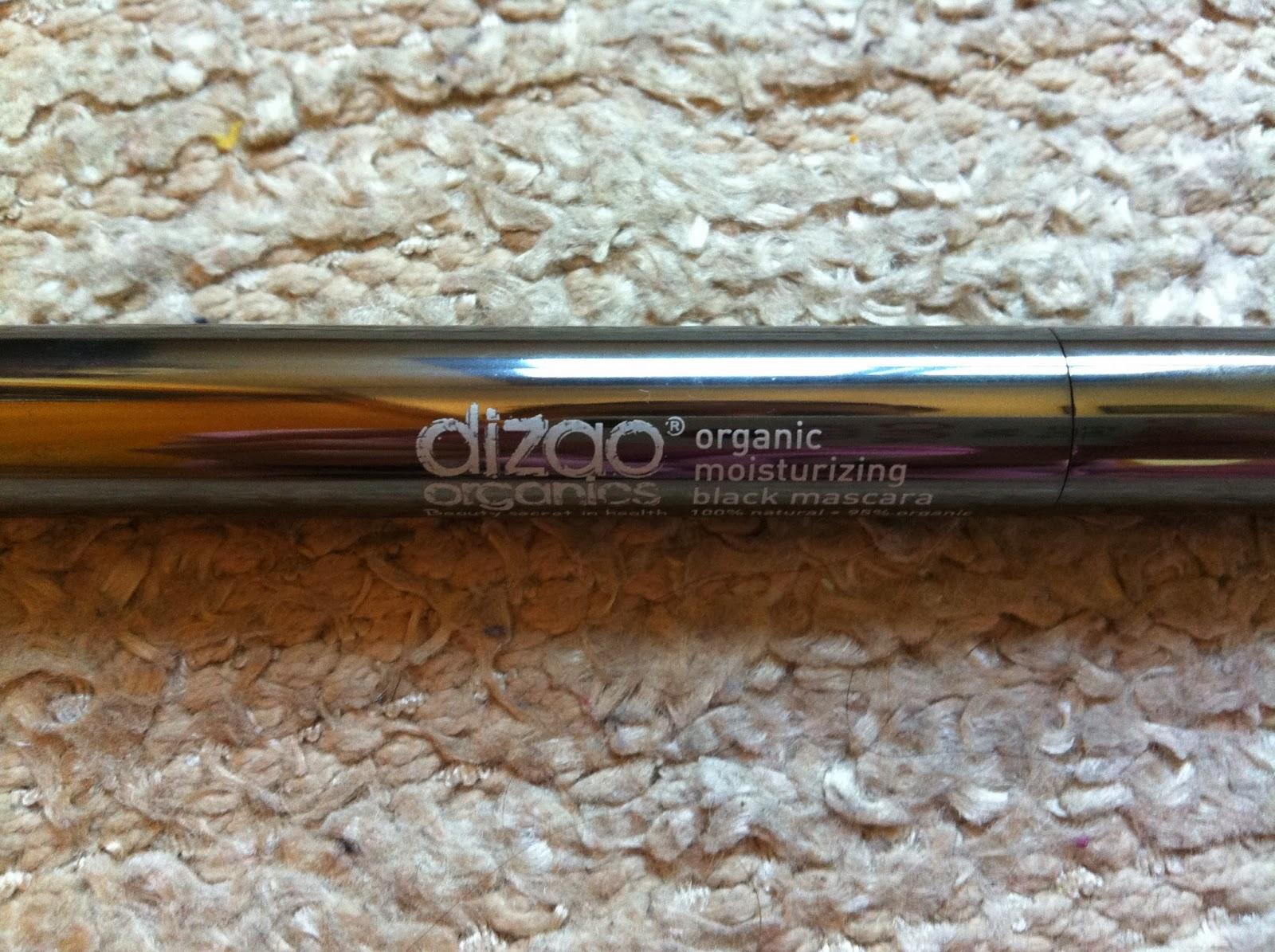 mascara pestañas ecologica Dizao Organics, olor a chocolate