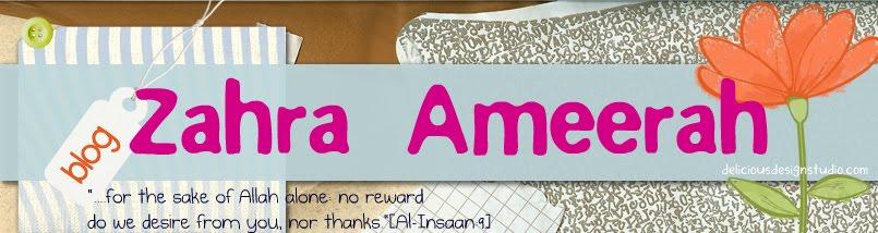Zahra Ameerah's