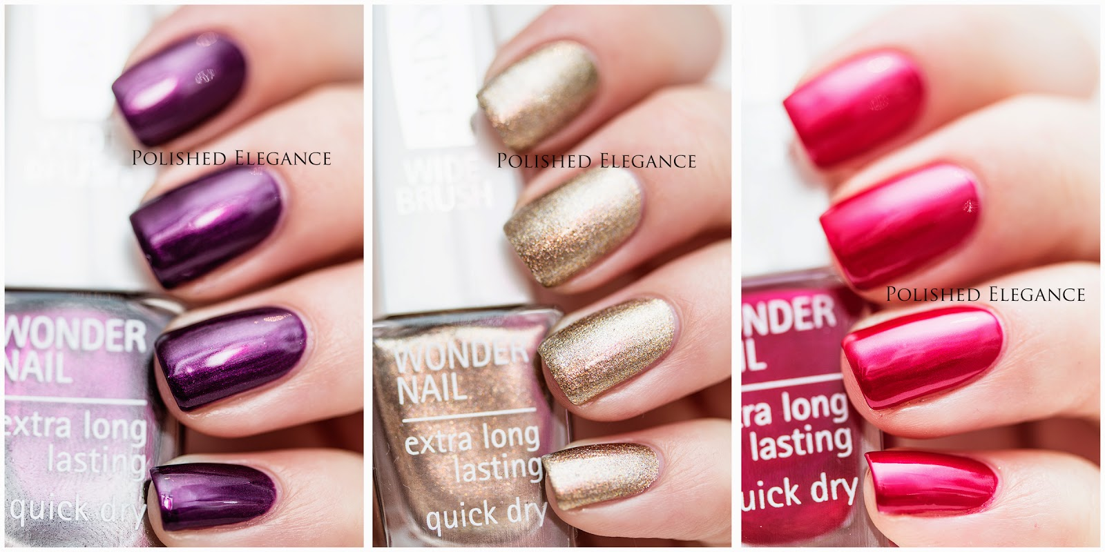 IsaDora - Holiday 2014 Mesmerizing collection swatches review
