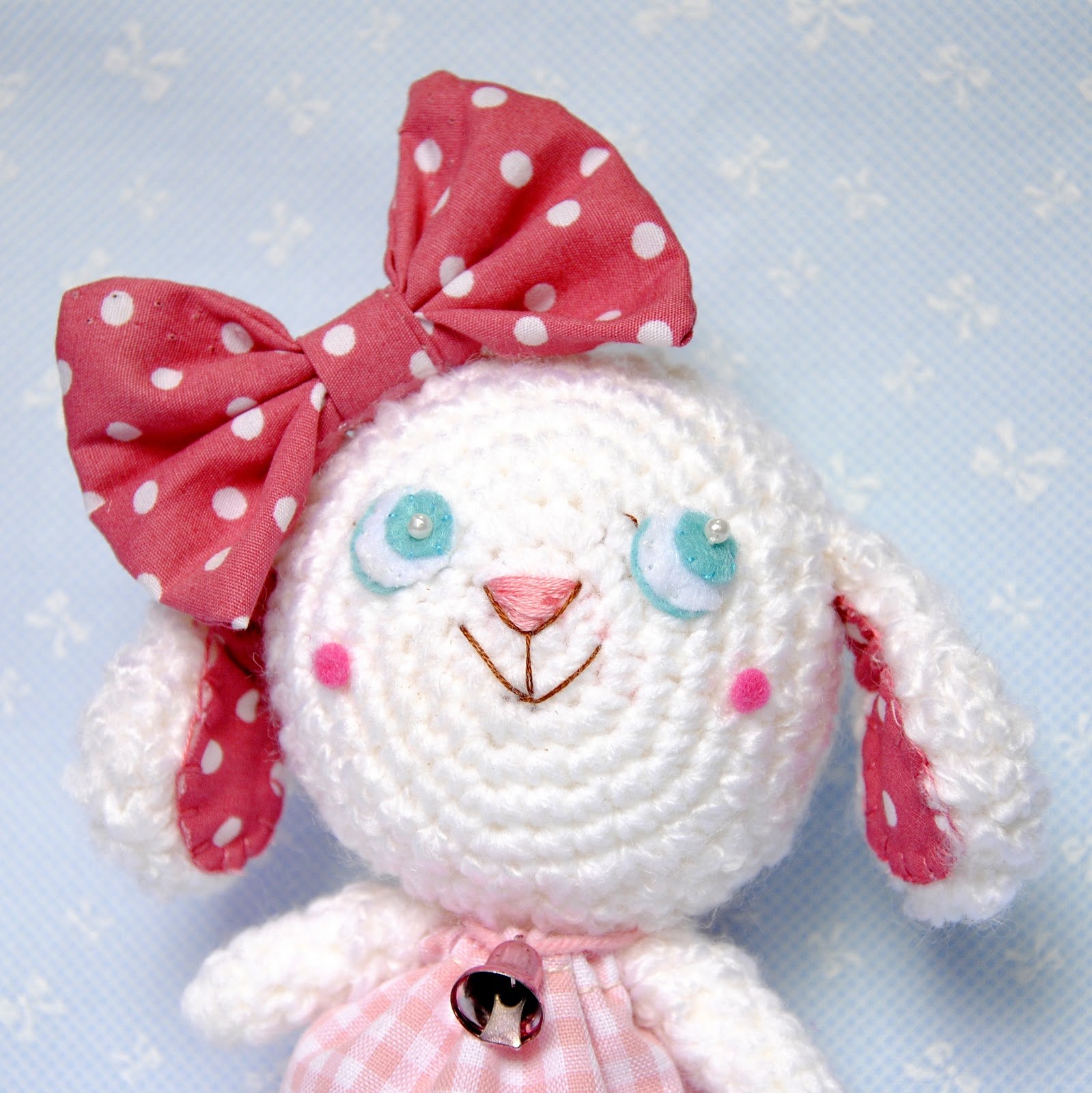Amigurumi Sheep Doll : One Love Cottage: 1cottage::.Big Bow Sheep Sheep ...