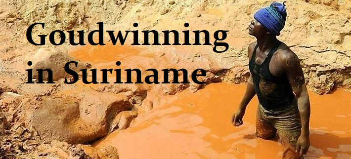 Goudwinning in Suriname