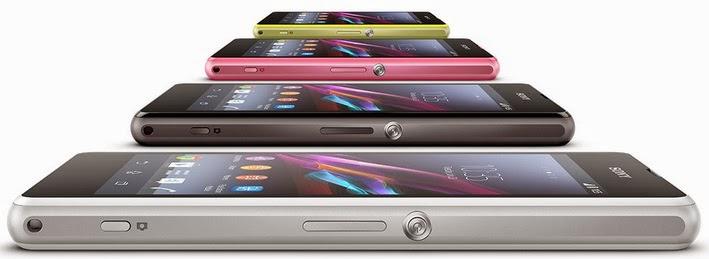 Gambar Sony Xperia Z1 Compact 4 Warna