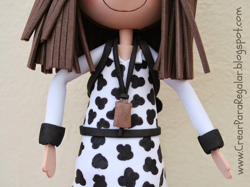fofucha con cencerro de vaca
