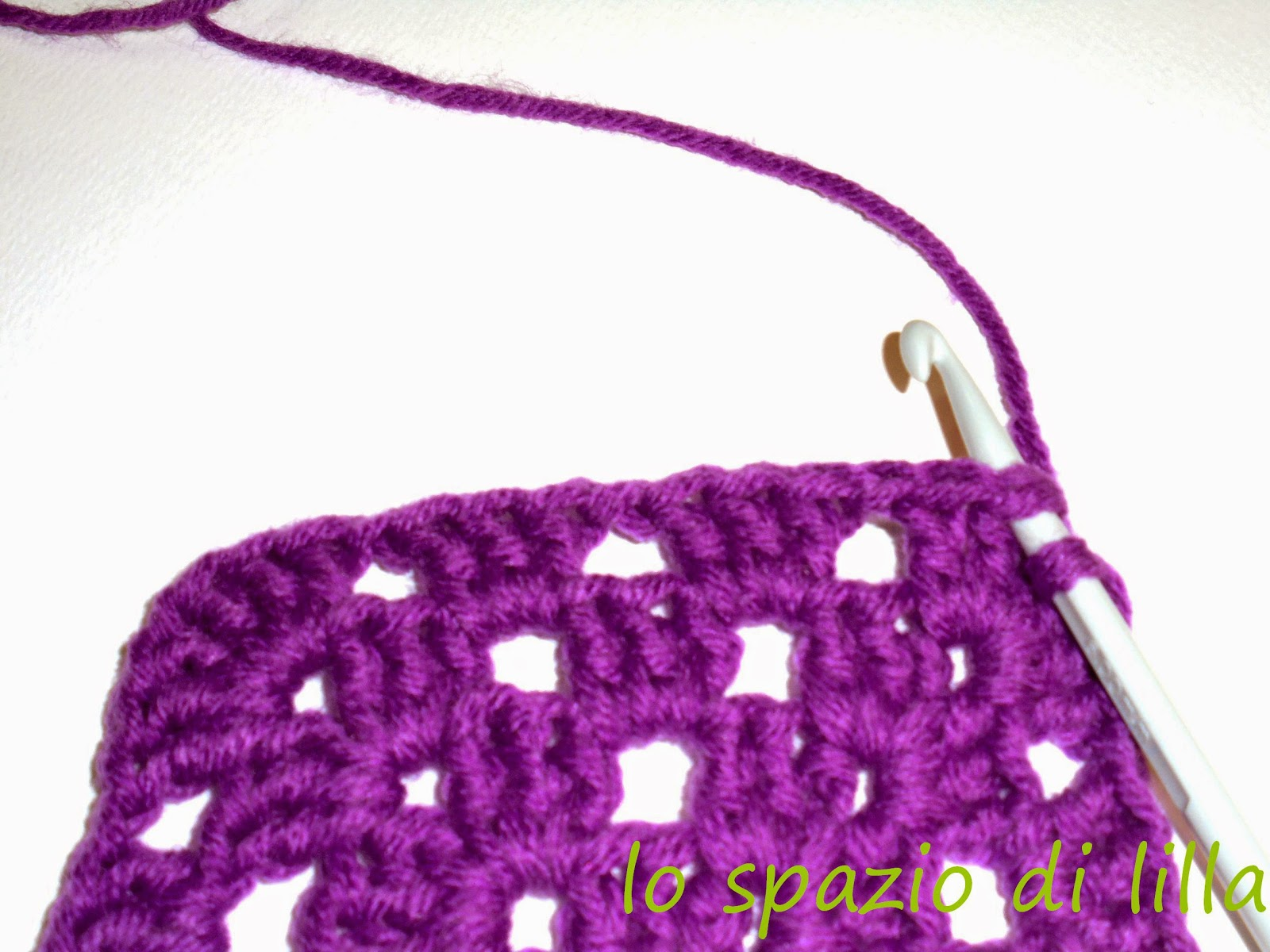 ... slip sticth on the second double crochet stitch of previous round