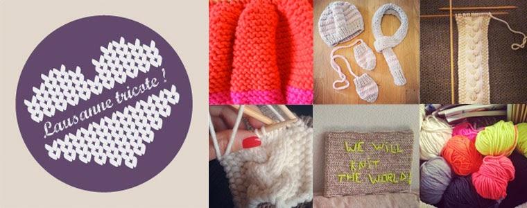Lausanne tricote!
