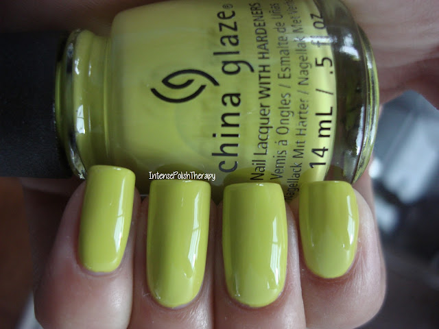 China Glaze - Trip Of A Lime Time