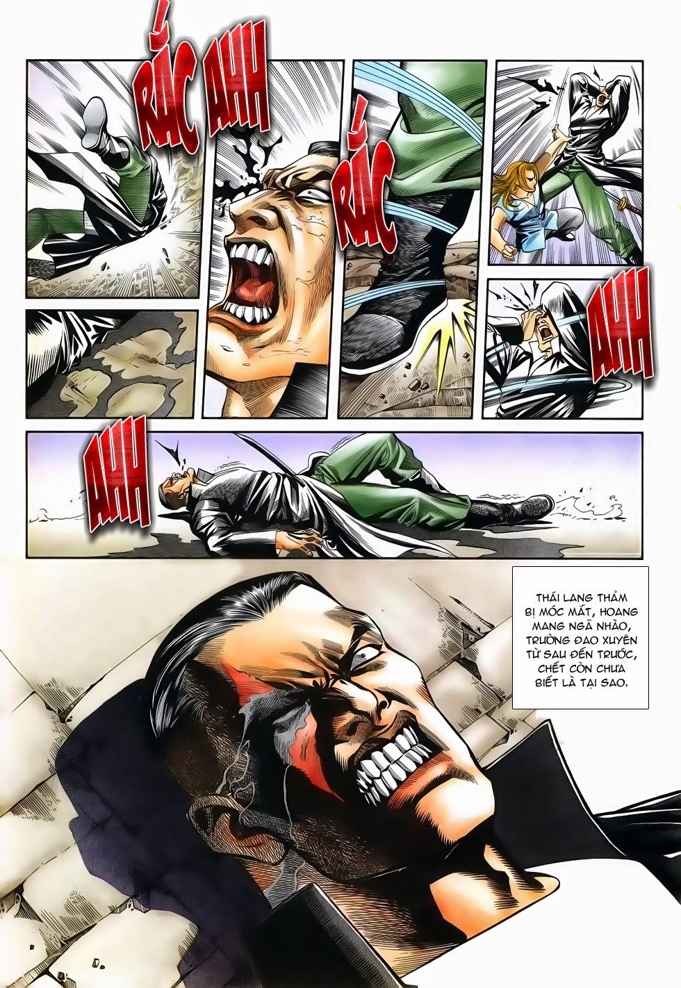 Long Hổ Phong Bạo chap 3 - Trang 17