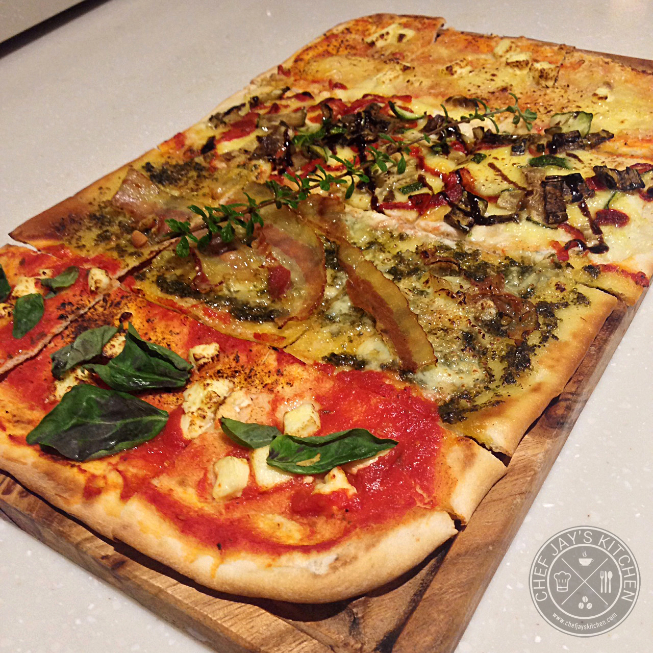 Taza fresh table using fresh organic ingredients to for Table 5 pizza