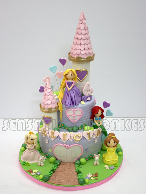 The Sensational Cakes Best Handcrafted Princess Character Cake