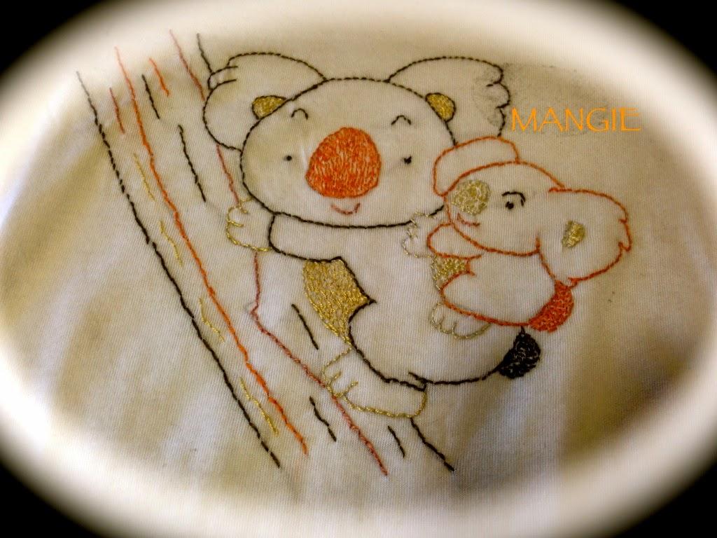 Camiseta pespunte Koala