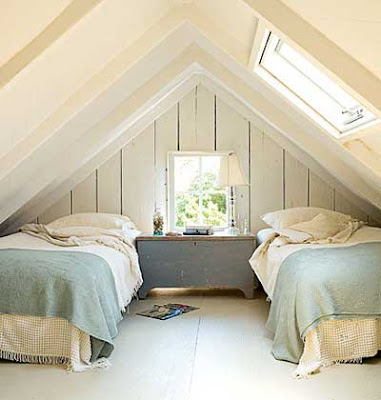 Tips for Decorating a Small Attic Bedroom
